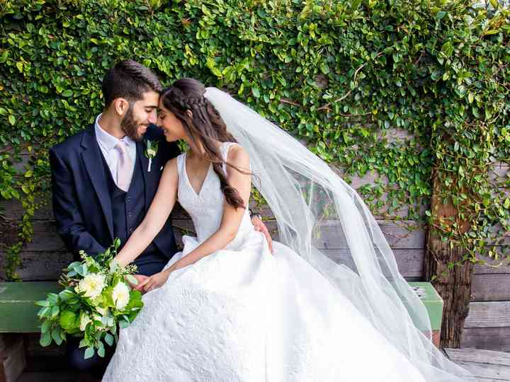 The wedding of Lana and Mohammad
