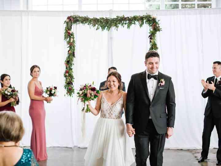 The wedding of Rachel and Joe