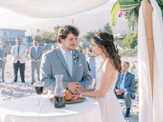 The wedding of Kinsey and Mitchell