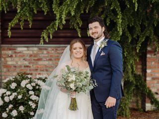 The wedding of Erin and Brandon