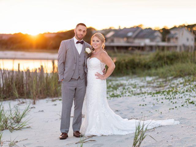 Justin and Jenna's Wedding in North Myrtle Beach, South Carolina 78
