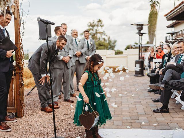 Sara and Brock's Wedding in Phoenix, Arizona 41