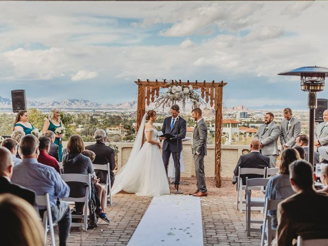Sara and Brock's Wedding in Phoenix, Arizona 45
