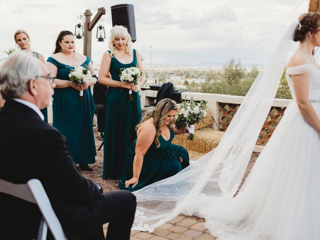 Sara and Brock's Wedding in Phoenix, Arizona 46