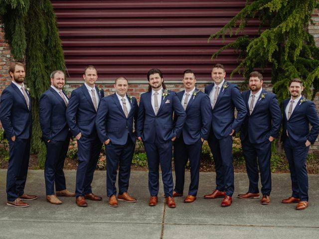 Brandon and Erin's Wedding in Tacoma, Washington 27