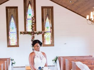 The wedding of Travis and Chante' 2