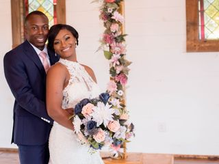 The wedding of Travis and Chante'