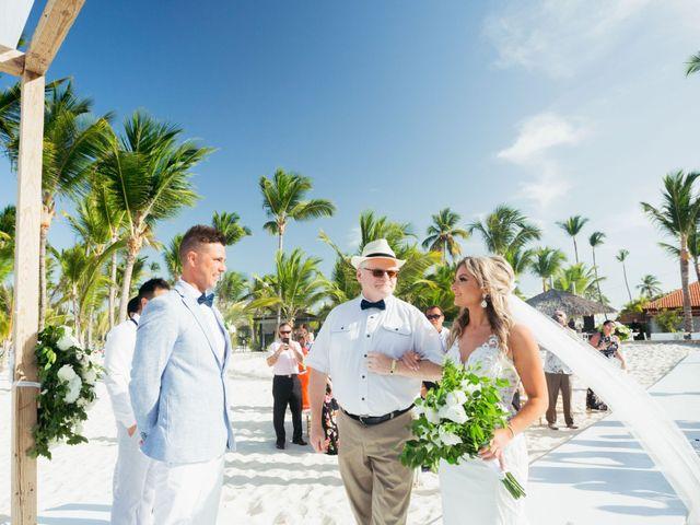 Brandon and Jennifer's Wedding in Punta Cana, Dominican Republic 80