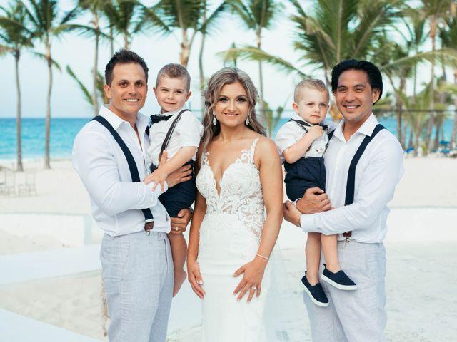 Brandon and Jennifer's Wedding in Punta Cana, Dominican Republic 130