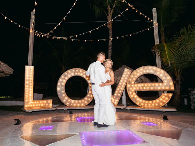 Brandon and Jennifer's Wedding in Punta Cana, Dominican Republic 164