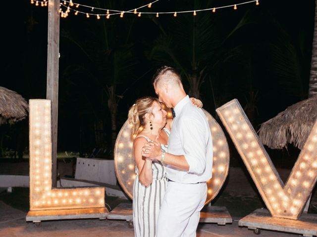 Brandon and Jennifer's Wedding in Punta Cana, Dominican Republic 169
