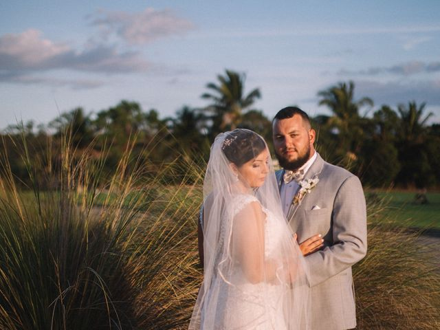 The wedding of Roxanne and Cody