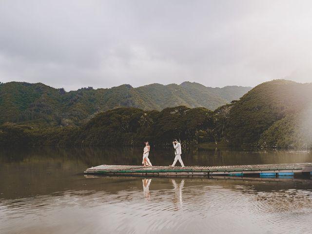 Michael and Mariel's Wedding in Kaaawa, Hawaii 1