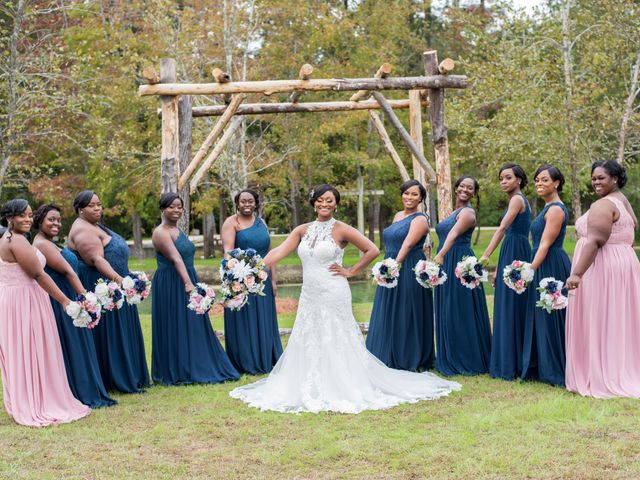 Chante' and Travis's Wedding in Marion, South Carolina 6