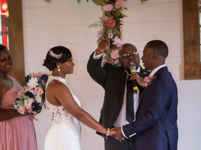 Chante' and Travis's Wedding in Marion, South Carolina 7