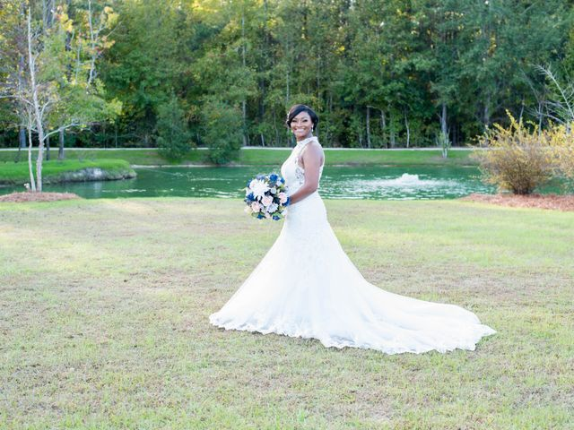 Chante' and Travis's Wedding in Marion, South Carolina 10
