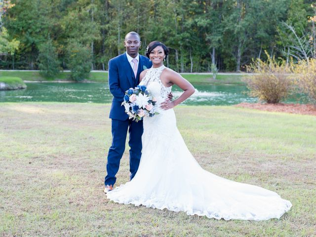 Chante' and Travis's Wedding in Marion, South Carolina 19