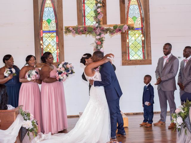 Chante' and Travis's Wedding in Marion, South Carolina 20