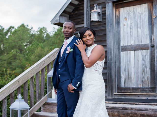Chante' and Travis's Wedding in Marion, South Carolina 24