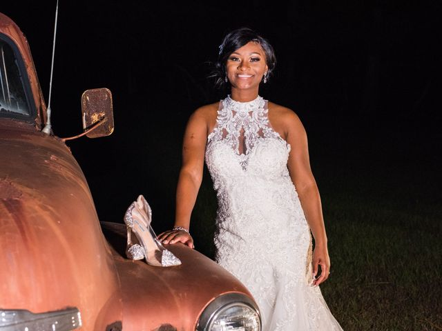 Chante' and Travis's Wedding in Marion, South Carolina 28