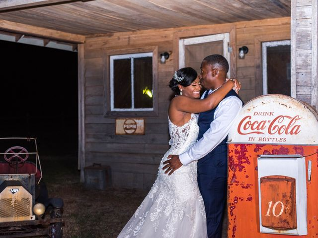 Chante' and Travis's Wedding in Marion, South Carolina 29