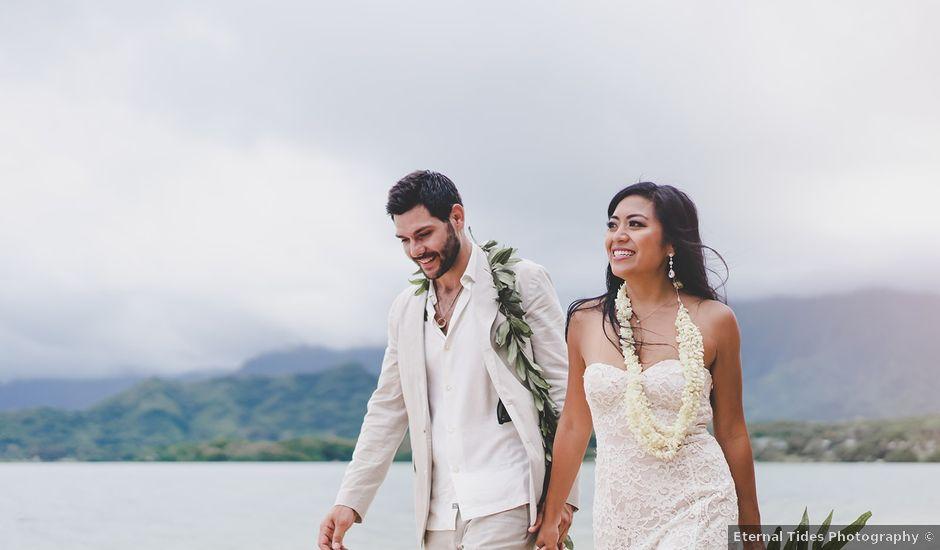 Michael and Mariel's Wedding in Kaaawa, Hawaii