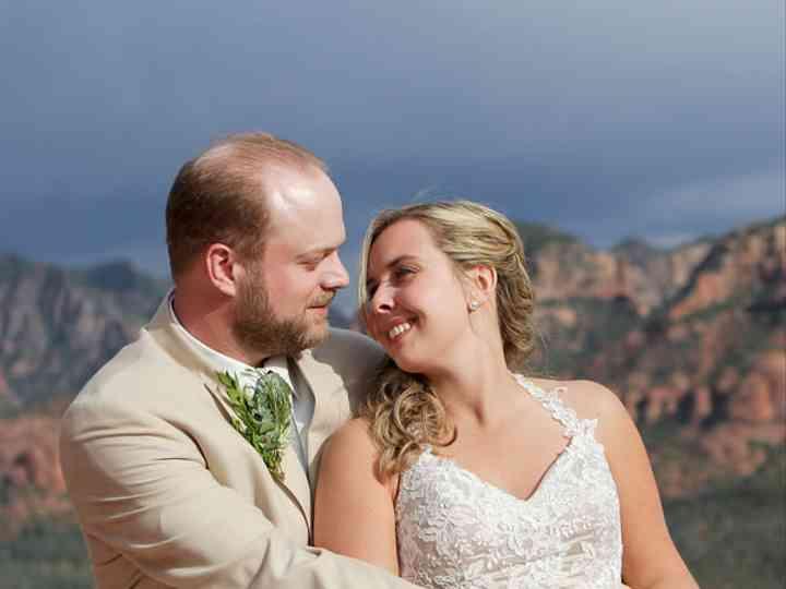 The wedding of Joe and Emily