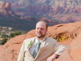 Emily and Joe's Wedding in Sedona, Arizona 4