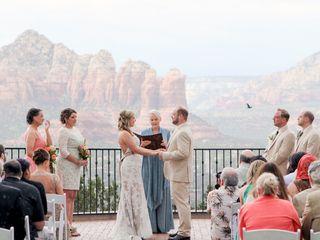 Emily and Joe's Wedding in Sedona, Arizona 6