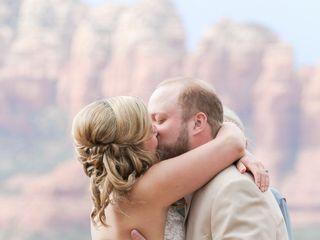 Emily and Joe's Wedding in Sedona, Arizona 7