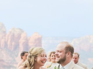 Emily and Joe's Wedding in Sedona, Arizona 8