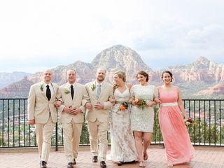 Emily and Joe's Wedding in Sedona, Arizona 9
