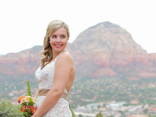 Emily and Joe's Wedding in Sedona, Arizona 2