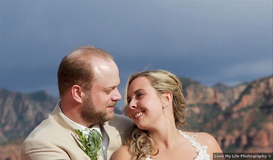Emily and Joe's Wedding in Sedona, Arizona