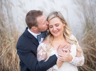 The wedding of Kim and Ben