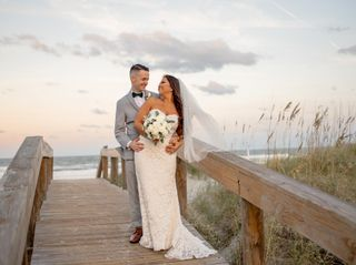 The wedding of Ashley and Alex