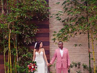 The wedding of Sabrina and Patrick
