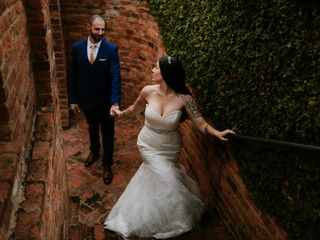 The wedding of Anthony and Alexandria