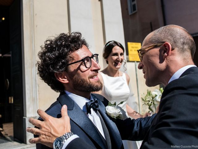 Luca and Silvia's Wedding in Milan, Italy 48