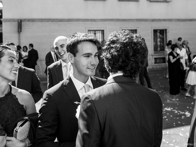 Luca and Silvia's Wedding in Milan, Italy 56