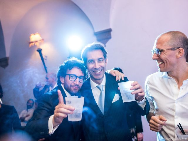 Luca and Silvia's Wedding in Milan, Italy 112