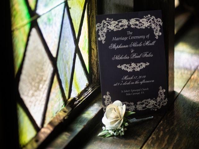 Nick and Stephanie's Wedding in Philadelphia, Pennsylvania 6