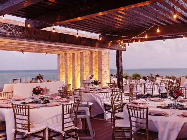 Patrick and Sabrina's Wedding in Cancun, Mexico 11