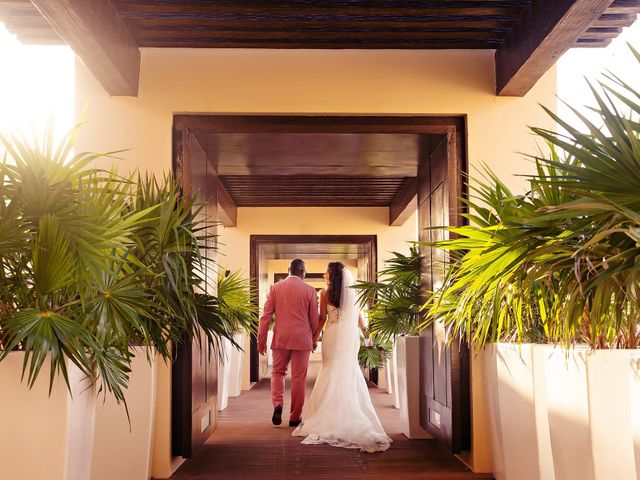 Patrick and Sabrina's Wedding in Cancun, Mexico 17