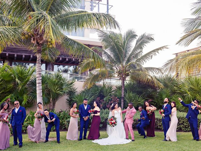 Patrick and Sabrina's Wedding in Cancun, Mexico 24