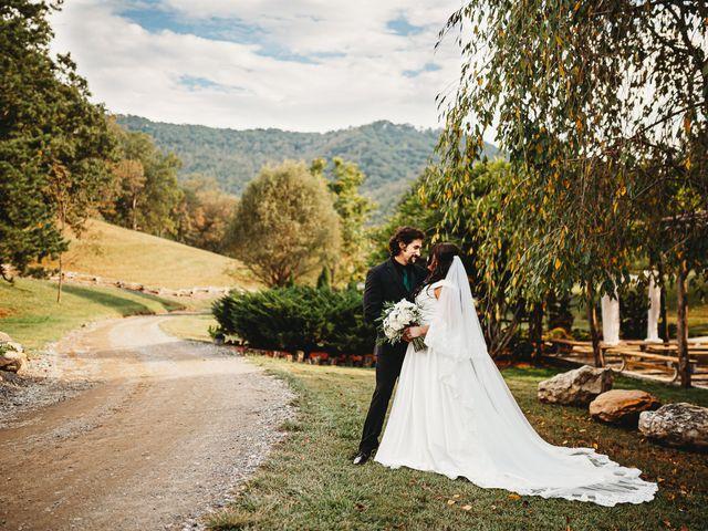 Anthony and Katya's Wedding in Asheville, North Carolina 61