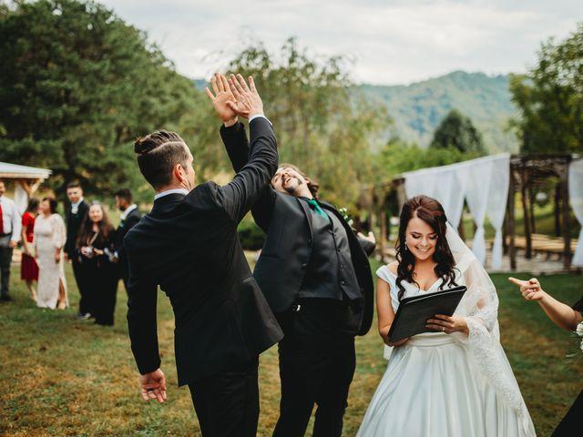 Anthony and Katya's Wedding in Asheville, North Carolina 74