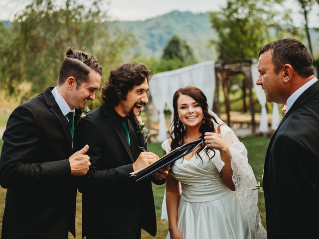 Anthony and Katya's Wedding in Asheville, North Carolina 75