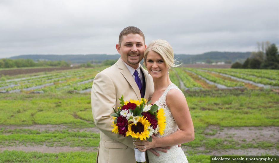 Jackie and Justin's Wedding in Fort Leavenworth, Kansas