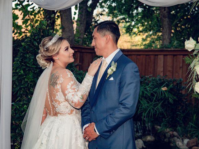 The wedding of Ericka and Roberto